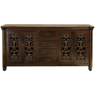 Lourdes 4 Drawer/4 Door Buffet