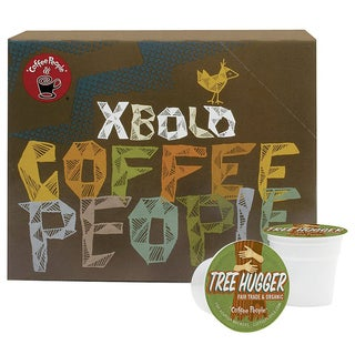 Coffee People Tree Hugger Fair Trade and Organic 96-count K-Cups for Keurig Brewers