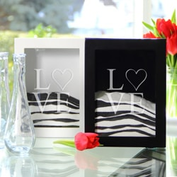 Modern Love Sand Ceremony Shadow Box Set
