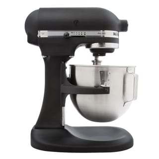 KitchenAid RKSM500BK Imperial Black 5-quart Stand Mixer (Refurbished )
