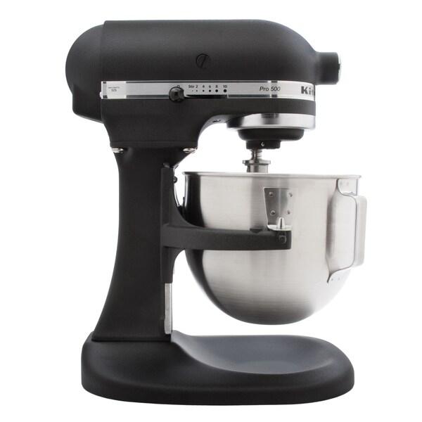 KitchenAid RKSM500BK Imperial Black 5-quart Stand Mixer (Refurbished )