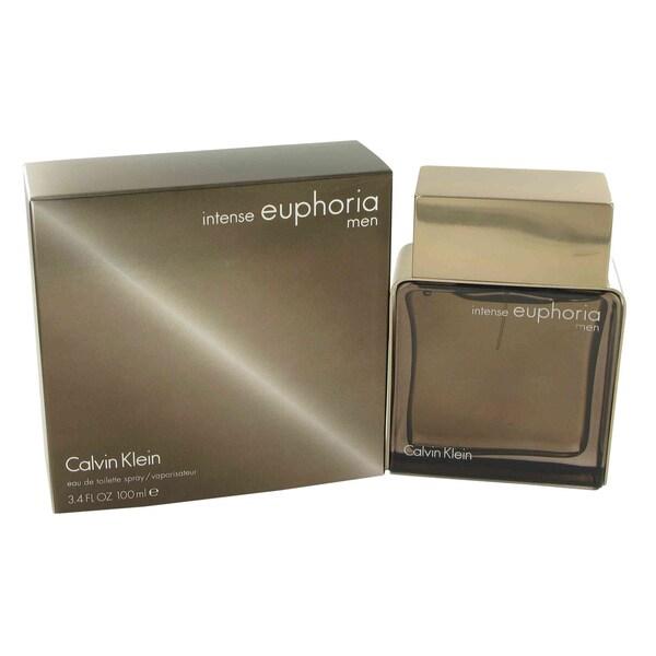 Calvin Klein Euphoria Intense Men's 3.4-ounce Eau de Toilette Spray