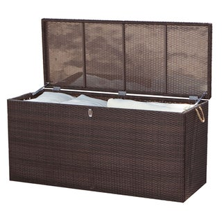 Manhattan Espresso Outdoor Cushion Box