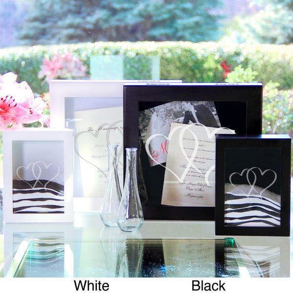 Two Hearts Wedding Memories Shadow Box Set