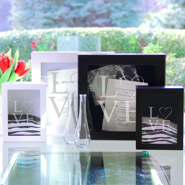 Modern Love Wedding Memories Shadow Box Set