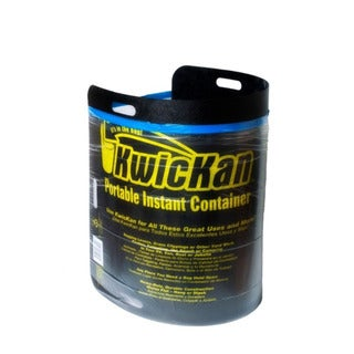 Kwickan Portable Instant Leaf and Trash Container Kit
