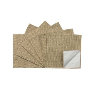 Rose Tree Tan Seagrass 18-inch Napkins (Set of 6)