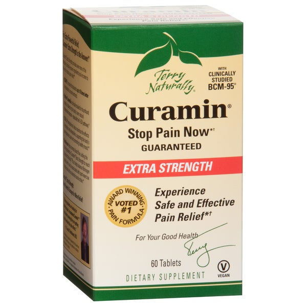 Terry Naturally Curamin Extra Strength (120 Tablets)