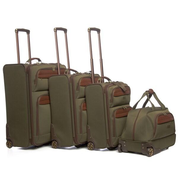 Tommy Bahama Retreat II 'Paradise Island' 4-piece Luggage Set