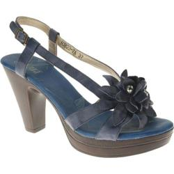 Women's Azura Laurentia Blue Leather