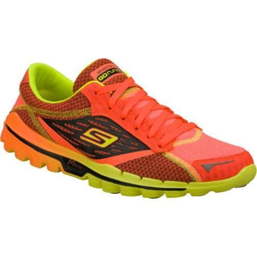 Men's Skechers GOrun 2 Red/Lime