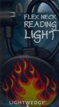Flex Neck Flames Reading Light (Novelty book)