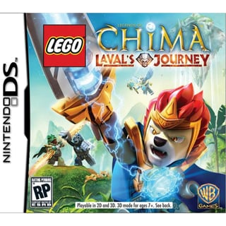 Nintendo DS -  Lego Legends Of Chima Lavals Journey