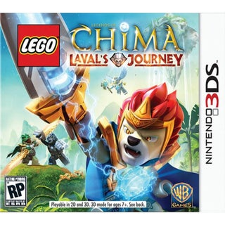 NinDS 3DS - Lego Legends Of Chima Lavals Journey