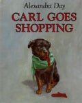 Carl Goes Shopping (Board book)