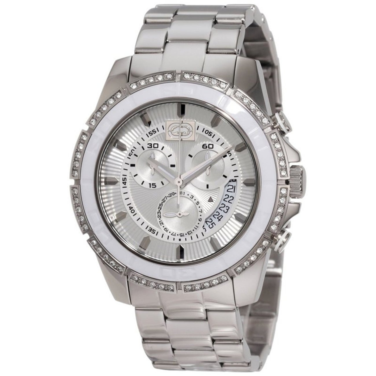 Marc Ecko Men's Stainless Steel Crystal-accented Watch at Sears.com