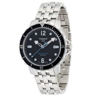 Tissot Men's T 066.407.11.057.00 'SeaStar' Automatic Stainless Steel Dive Watch