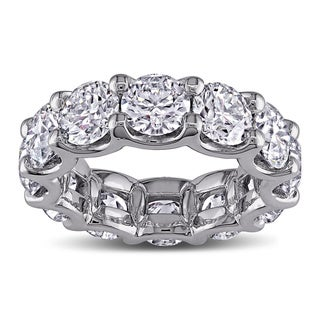 18k White Gold 8 1/2ct TDW Diamond Eternity Ring (G-H, I1-I2)