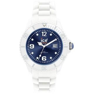 Ice-Watch Men's Dark Blue Dial White Strap Watch