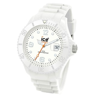 Ice-Watch Men's Sili Collection White Silicone Watch