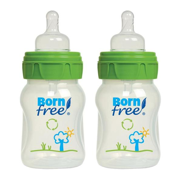 Born Free 5-ounce Eco Deco Bottles (Pack of 2)