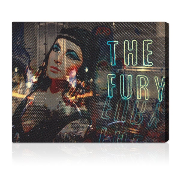 Oliver Gal 'The Fury' Canvas Art Print