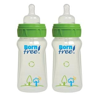 Born Free 9-ounce Eco Deco Bottles (Pack of 2)