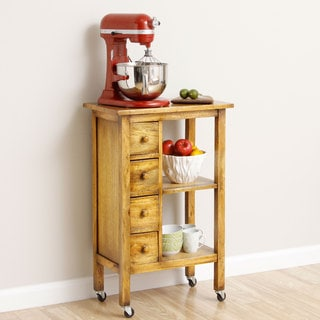 Aptik Handmade Kitchen Utility Cart (Indonesia)