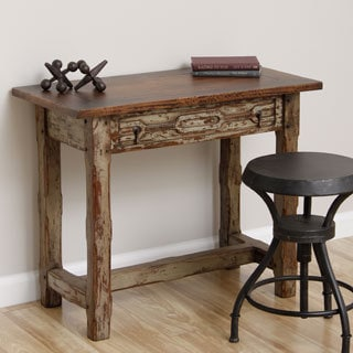Kuno Rustic Antique Wooden Accent Table (Indonesia)
