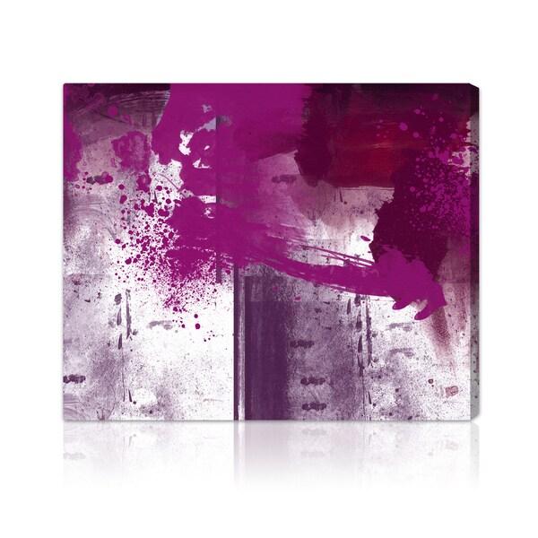 Oliver Gal 'Violet Substance' Modern Wall Decor