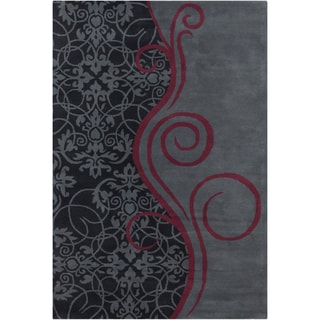 Allie Handmade Wool Rug (5' x 7'6)