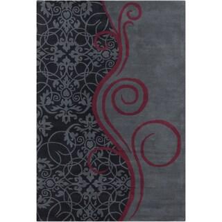 Allie Handmade Wool Rug (5' x 7'6)