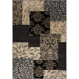 Grey Woven Landgrove Olefin Rug (5'3 x 7'6)