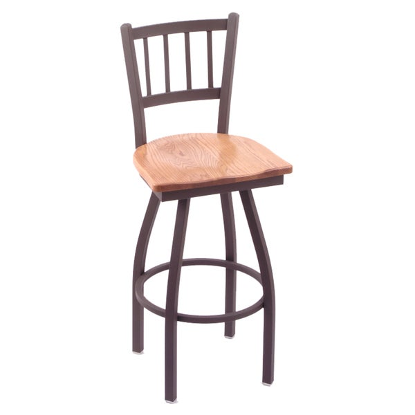 #018 Extra Tall Maple Bar Stool