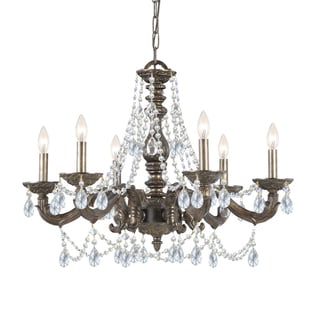 Sutton 6-Light Traditional Chandelier in Venetian Bronze