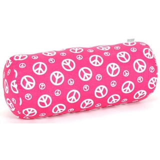 Peace Round Bolster Pillow