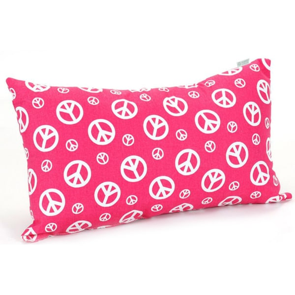 Peace Small Pillow