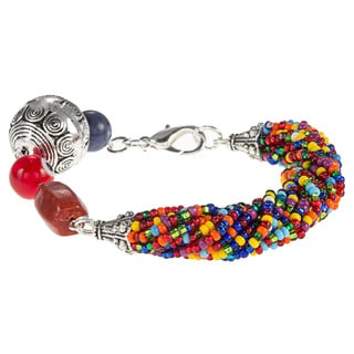 Bemos Multicolor Beaded Bracelet (Guatemala)