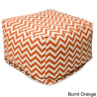 Indoor/Outdoor Majestic Home Goods Large Zig-zag Ottoman