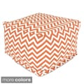 Majestic Home Goods Large Zig-zag Ottoman