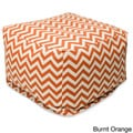 Majestic Home Threads Large Zig-zag Ottoman