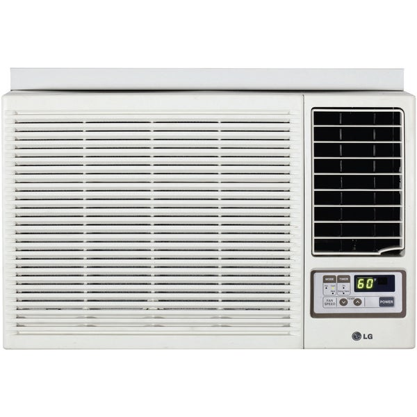 LG 12,000 BTU Window Air Conditioner with Heat and Remote 230 Volt LW1212HR (Refurbished)