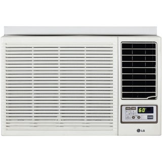 LG 12,000 BTU Window Air Conditioner with Heat and Remote 230 Volt LW1212HR (Refurbished)