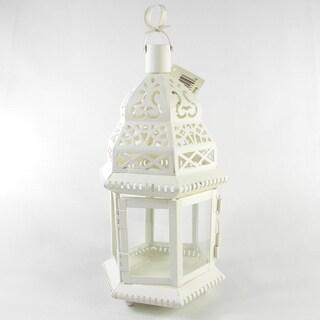 Maya Ceramic T Light Lantern Set Of 2 16613573