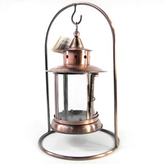 Copper Toned Tabletop Lantern