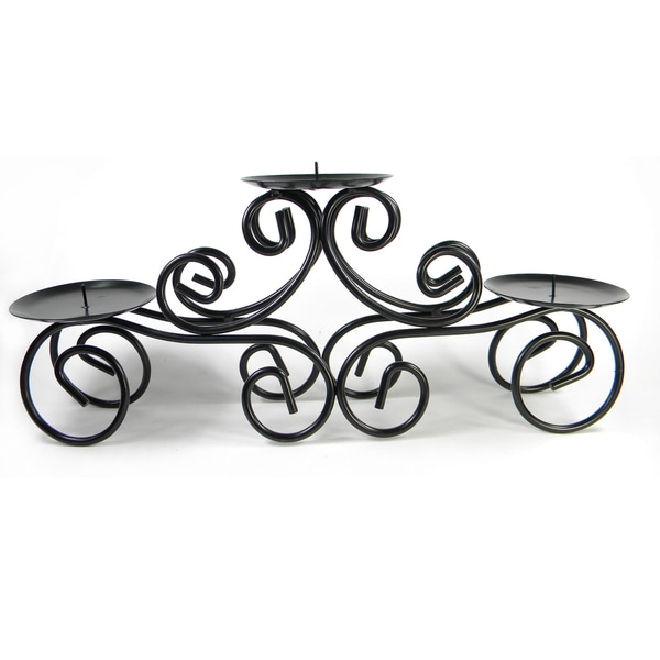 Tuscan Centerpiece Candle Holder