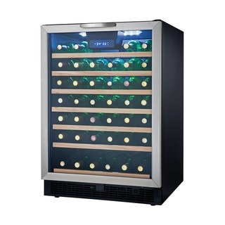Danby Silhouette Series 24-inch Built-in Dual Zone Wine Cellar with 51-bottle Capacity