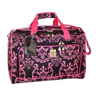 Jenni Chan Damask 18-inch Carry-on City Duffel Bag