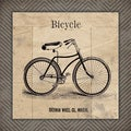 Jo Moulten 'Bicycle' Paper Print (Unframed)