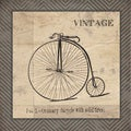 Jo Moulton 'Vintage Bicycle' Paper Print (Unframed)